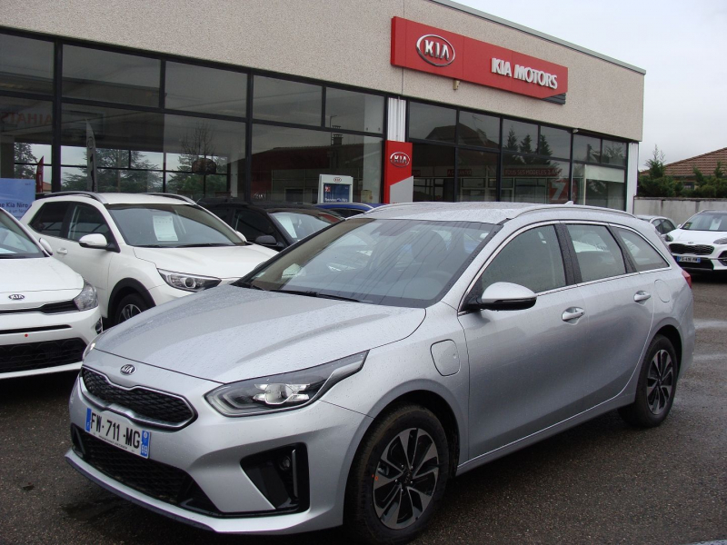 Kia CEED SW 1.6 GDI 105CH + PLUG-IN 60.5CH ACTIVE DCT6 Hybride GRIS  Occasion à vendre